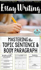 how to write a good introduction for a research paper best 25 topic sentences ideas on pinterest paragraph writing help your students master topic sentence and body paragraph writing with this teaching resource students