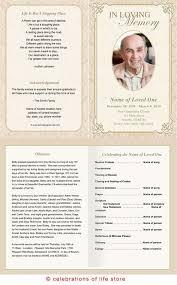 unique funeral programs classic funeral program template booklet design program