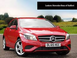 car mercedes red used mercedes benz a class red for sale motors co uk