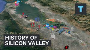 Silicon Valley Map Animated Timeline Shows How Silicon Valley Became A 2 8 Trillion