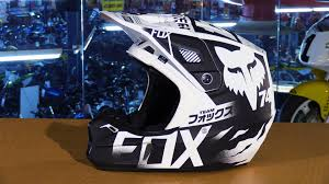 fox motocross helmet fox racing 2016 v2 union motorcycle helmet review youtube