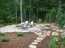Rustic Landscaping Ideas For A Backyard Rustic Backyard Pit Ideas Backyard Pit Designs Home
