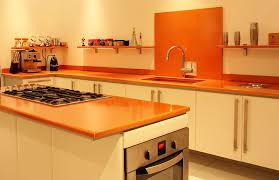 cuisine couleur orange kitchen furniture with enameled lava couleur lave