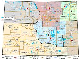 Map Of Colorado State by Contact Us Colorado State Land Board