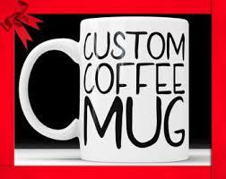 custom mug etsy