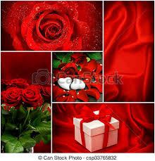 roses and hearts roses hearts gift box valentines day concept stock photos