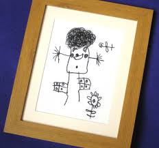 keepsake items kids drawing keepsake embroidered personalised by bowbeanie
