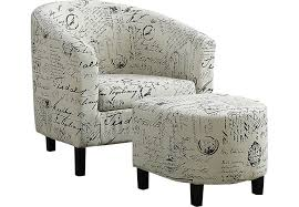 Accent Chairs Ferncroft Beige Accent Chair Ottoman Accent Chairs Beige