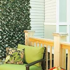 expanding trellis fencing expandable faux ivy trellis front porch deck ivy and chain link