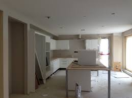 modular kitchen under construction in delhi india kitchen