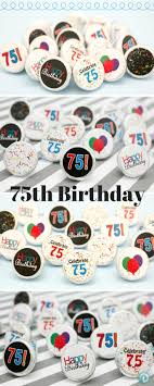 Favors For 75th Birthday by Best 25 75th Birthday Decorations Ideas On 70th