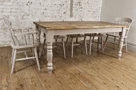 Pine Dining Room Set by Victorian Solid Pine Farmhouse Dining Table Antiques Atlas Solid