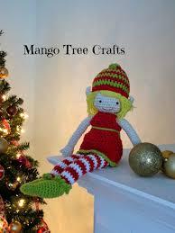 mango tree crafts crochet christmas elf