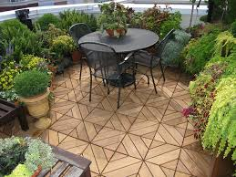 how to care for wood and composite deck tiles