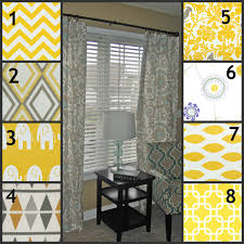 Yellow Ruffle Curtains by Furniture Yellow Curtain Panels For Your Interior Furniture Decor