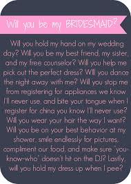 ideas to ask bridesmaids to be in wedding creative ways to ask your bridesmaid to be in your wedding lip