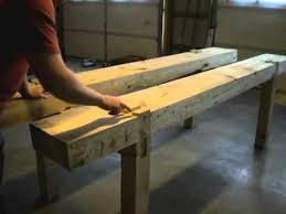 4 building a traditional woodworking bench part 4 top slab