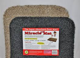 amazon com miracle door mat 30x40 charcoal garden u0026 outdoor