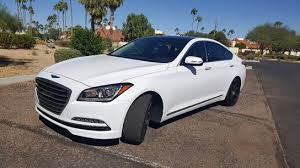 hyundai genesis 5 0 white hyundai genesis in arizona for sale used cars on