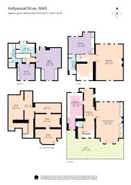 colour floor plans u2014 dowling jones