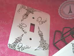 paris themed single switch plate cover new lower price 7 00
