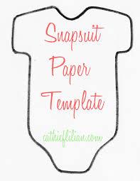 handmade baby shower invitations onsie template