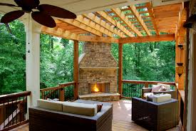 Backyard Decks Images by Outdoor Decks With Fireplaces Articlesec Com