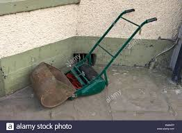 old lawn mower stock photos u0026 old lawn mower stock images alamy