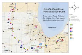 Chicago Police Beat Map by Not All On Board With Great Lakes Basin Railroad Plan That Would