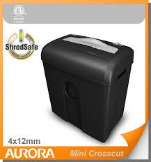 list manufacturers of paper shredder crosscut buy paper shredder