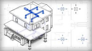 How To Design Home Hvac System Revit Tutorials U003e Introduction To Hvac Design In Revit Mep
