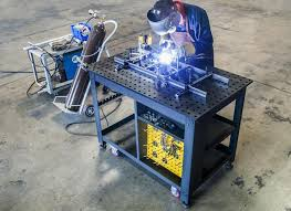 Buildpro Welding Table by Rhino Cart All Inclusive Welding Table And 66 Pc Tooling Kit