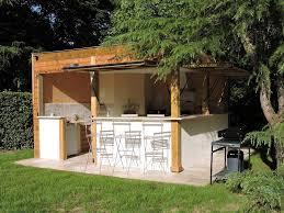 cuisine extérieure d été cuisine d été le logis du parc