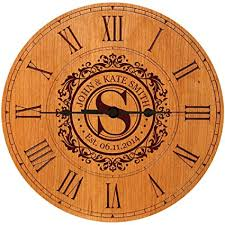 anniversary clock gifts wedding clock or anniversary clock personalized