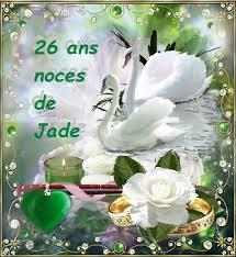 26 ans de mariage de mariage 26 ans noces de jade