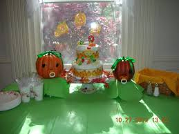 halloween themed baby shower spooky dessert table our events