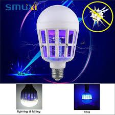 uv light for birds smuxi 15w led bulb e27 globe light 2835smd anti mosquito light bulb