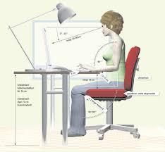 schreibtische ergonomisch richtig sitzen am schreibtisch onmeda de