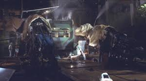 jurassic park car movie two t rex animatronic models behind the scenes in the lost world