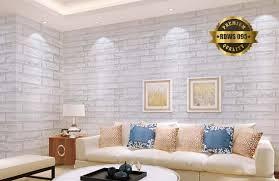 wallpaper design batu bata wallpaper stiker motif batu bata putih minimalis didinding com