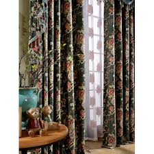 Discount Waverly Curtains Green Flower Thermal Waverly Vintage Valance Curtains
