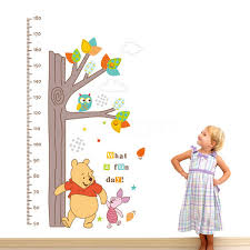 children height growth chart measure wall sticker kids room decor children height growth chart measure wall sticker kids