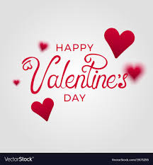 happy valentines day banner happy day banner royalty free vector image