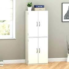 hodedah 4 door cabinet 4 door pantry cabinet shaker 4 door wall pantry with shelves in