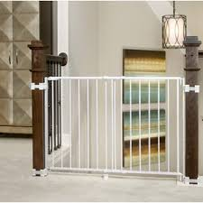 Baby Gate For Stairs With Banister Modern Safety Gates Allmodern