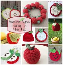 free crochet patterns for home decor fiber flux awesome apples 10 free crochet patterns