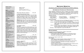 Sample Resume It Professional by Resume Example For It Professional Resume Template Professional