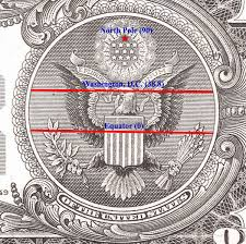Secret Map There Is A Secret Map Encoded On The Dollar Bill U2026 You Are Not