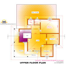 Kerala Home Design Floor Plan And Elevation by 2d Elevation And Floor Plan Of 2633 Sqfeet Kerala Home Design
