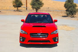 subaru sti 2016 red 2016 subaru wrx sti test drive review autonation drive